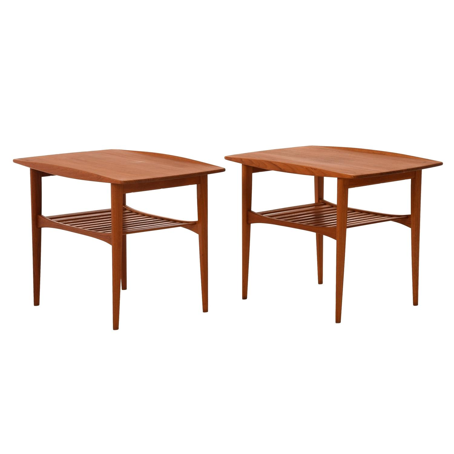 Danish Modern Side Table At 1stdibs