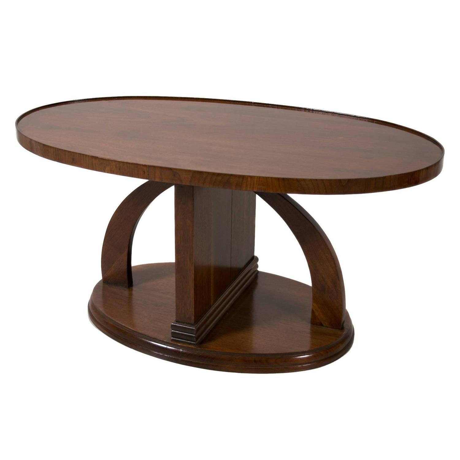 Swedish Art Deco Period Mahogany Coffee Table Or Occasional Table Circa 1930 For Sale At 1stdibs