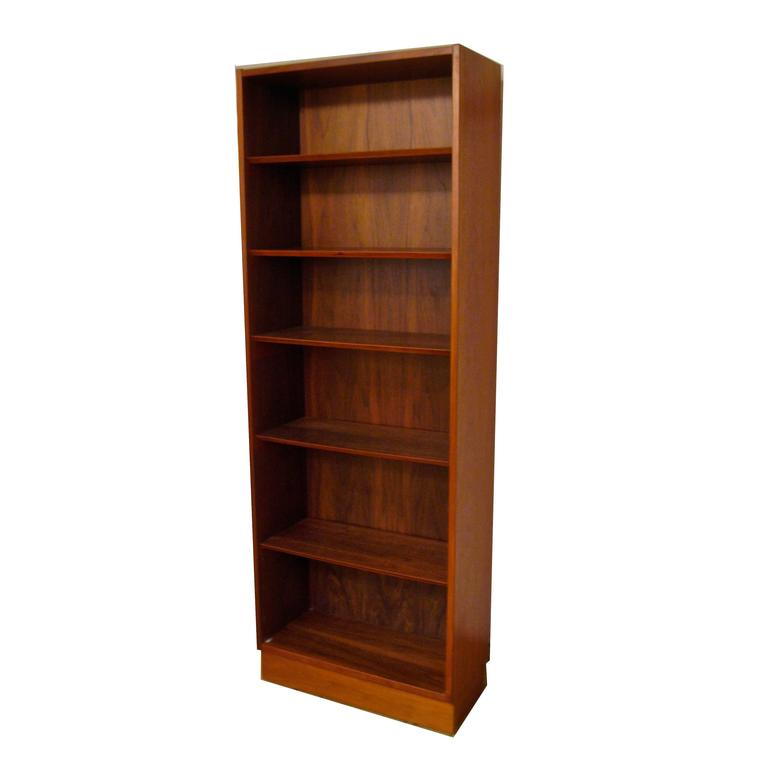 Poul Hundevad Danish Modern Teak Bookcase At 1stdibs
