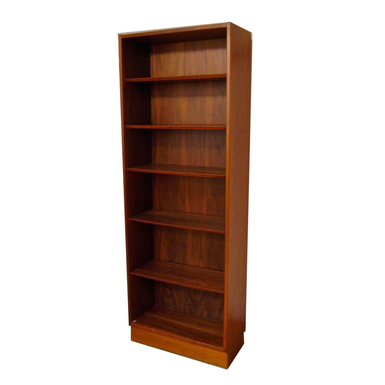 Poul Hundevad Danish Modern Teak Bookcase For Sale At 1stdibs