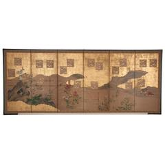 Japanese Six-Panel Screen