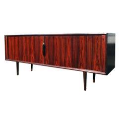 Vintage Midcentury Ib Kofod-Larsen Brazilian Rosewood Credenza for Faarup