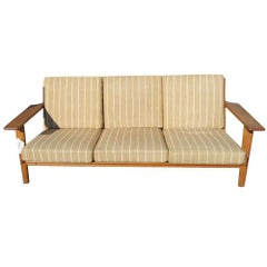 Hans Wegner GE 290 3 Seat Sofa for Getama