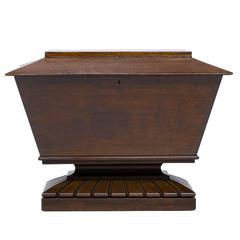 19th Century Oak Cellarette or Wine Cooler, circa 1840