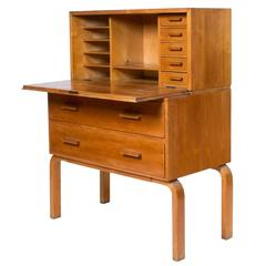 Early Alvar Aalto Secretary, Model 802, 1930s