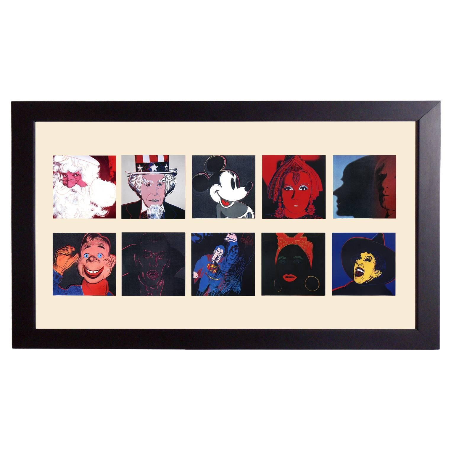 """Andy Warhol """"Myths"""" Portfolio"""