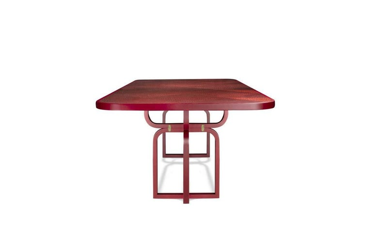 Modern Caryllon Dining Table by Cristina Celestino For Sale