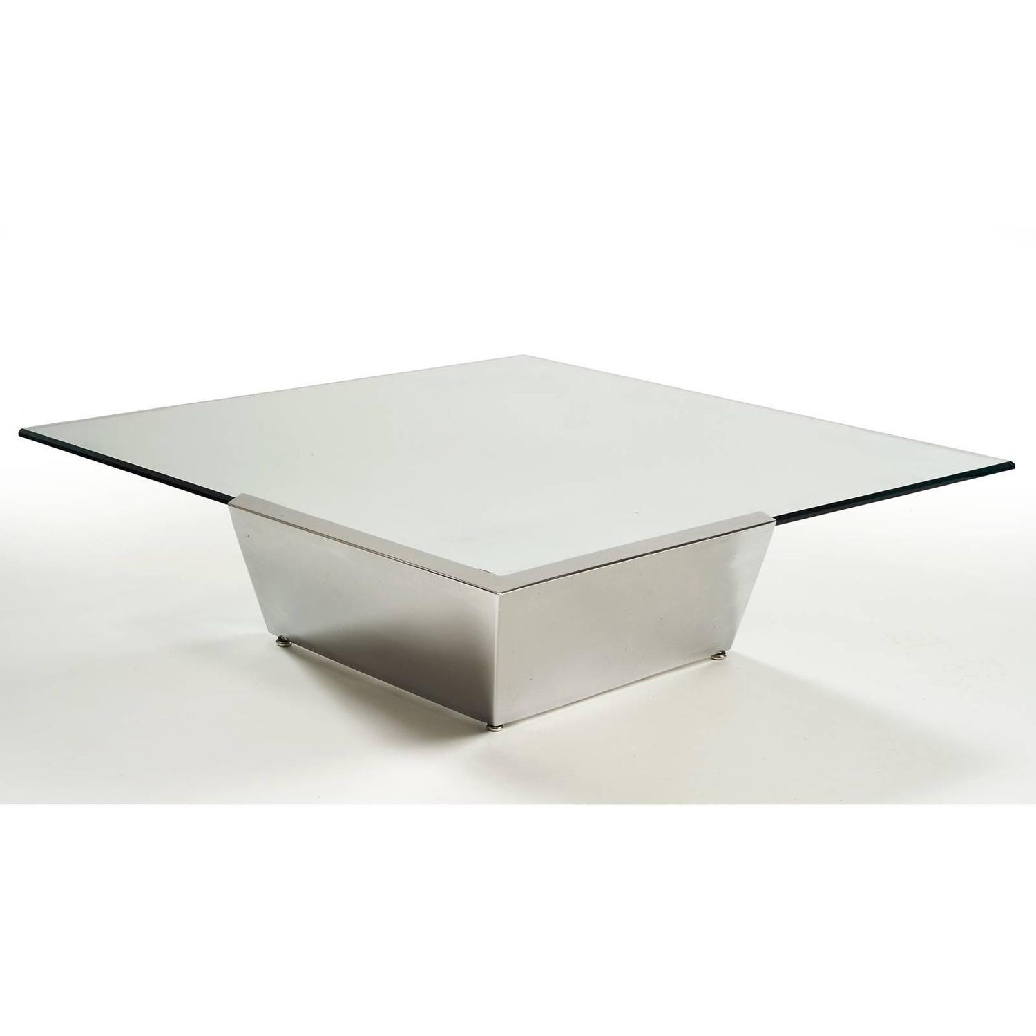 Stunning Late 1970s Brueton Cantilever Coffee Table For Sale At 1stdibs
