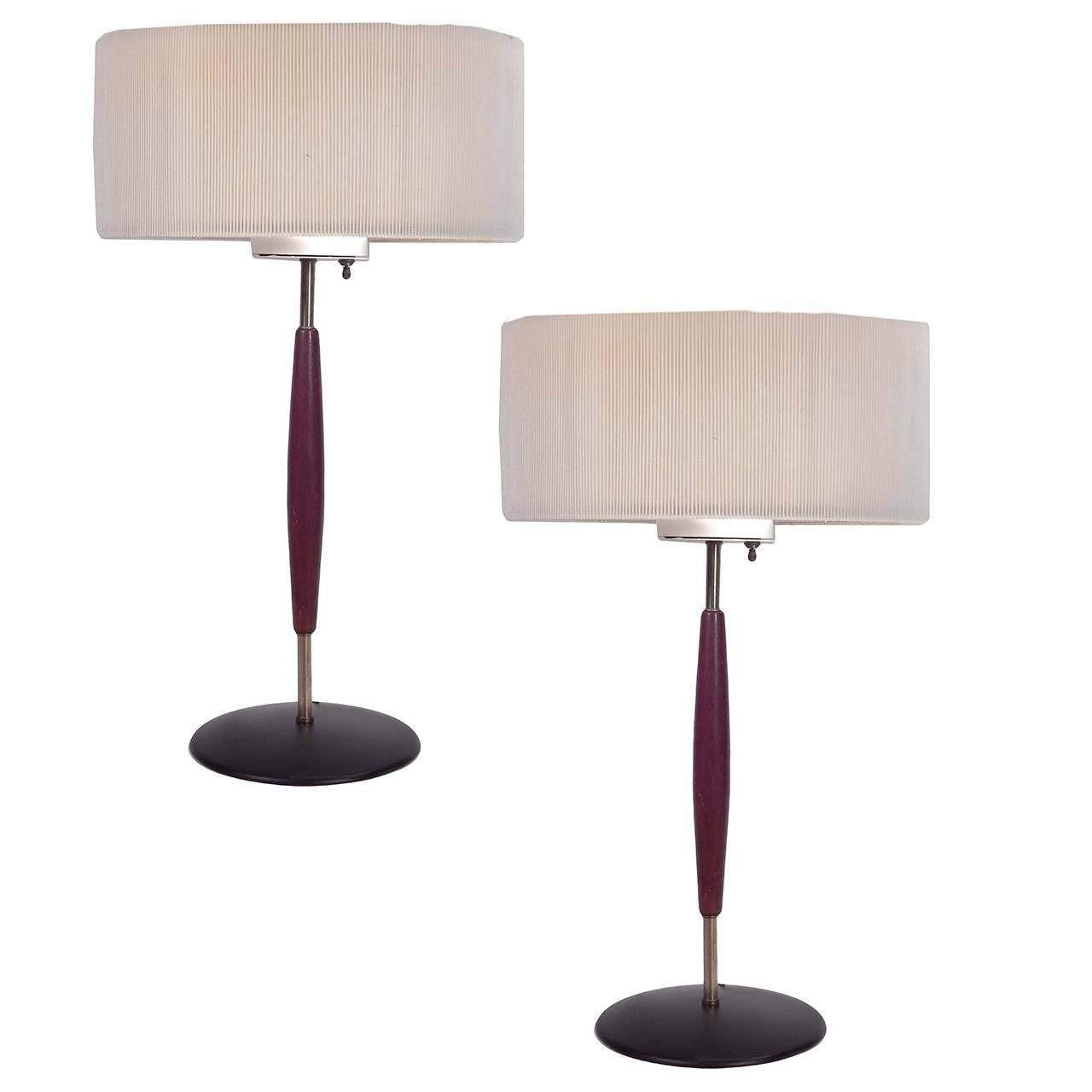 this pair of mid century teak and brass table lamps is no longer. Black Bedroom Furniture Sets. Home Design Ideas