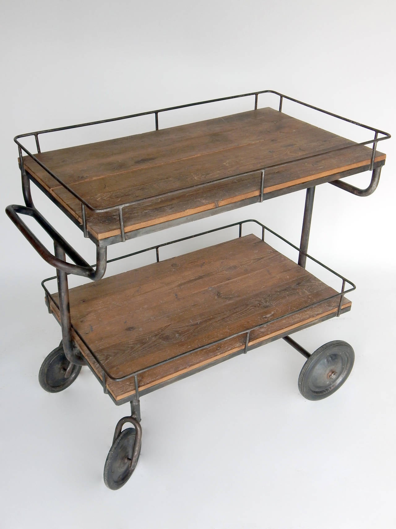 Industrial Cart At 1stdibs