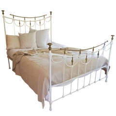 Queen Sized Iron Bed
