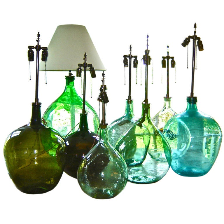 New Shipment Of French Wine Bottle Lamps At 1stdibs