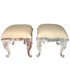 Pair of Decorative Stools