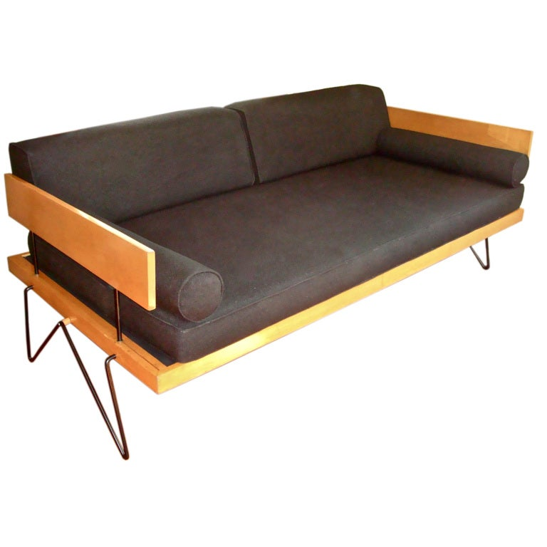 great mid century daybed sofa at 1stdibs