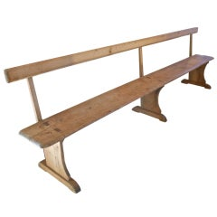 Early English Elm Bench
