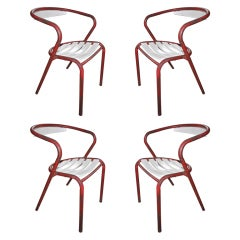 Four French Bistro Chairs