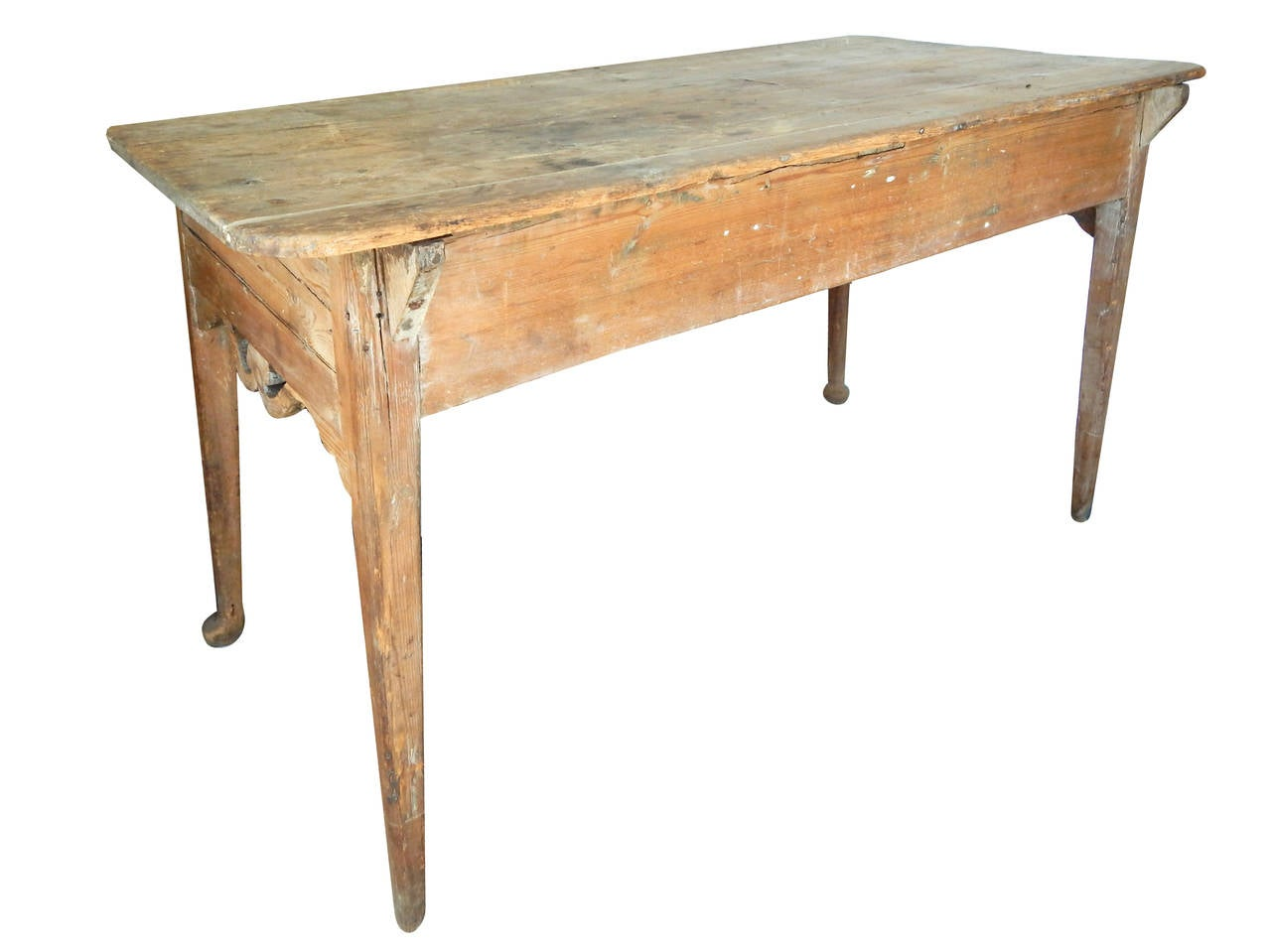 European table with scroll apron for sale at 1stdibs for Table th scroll