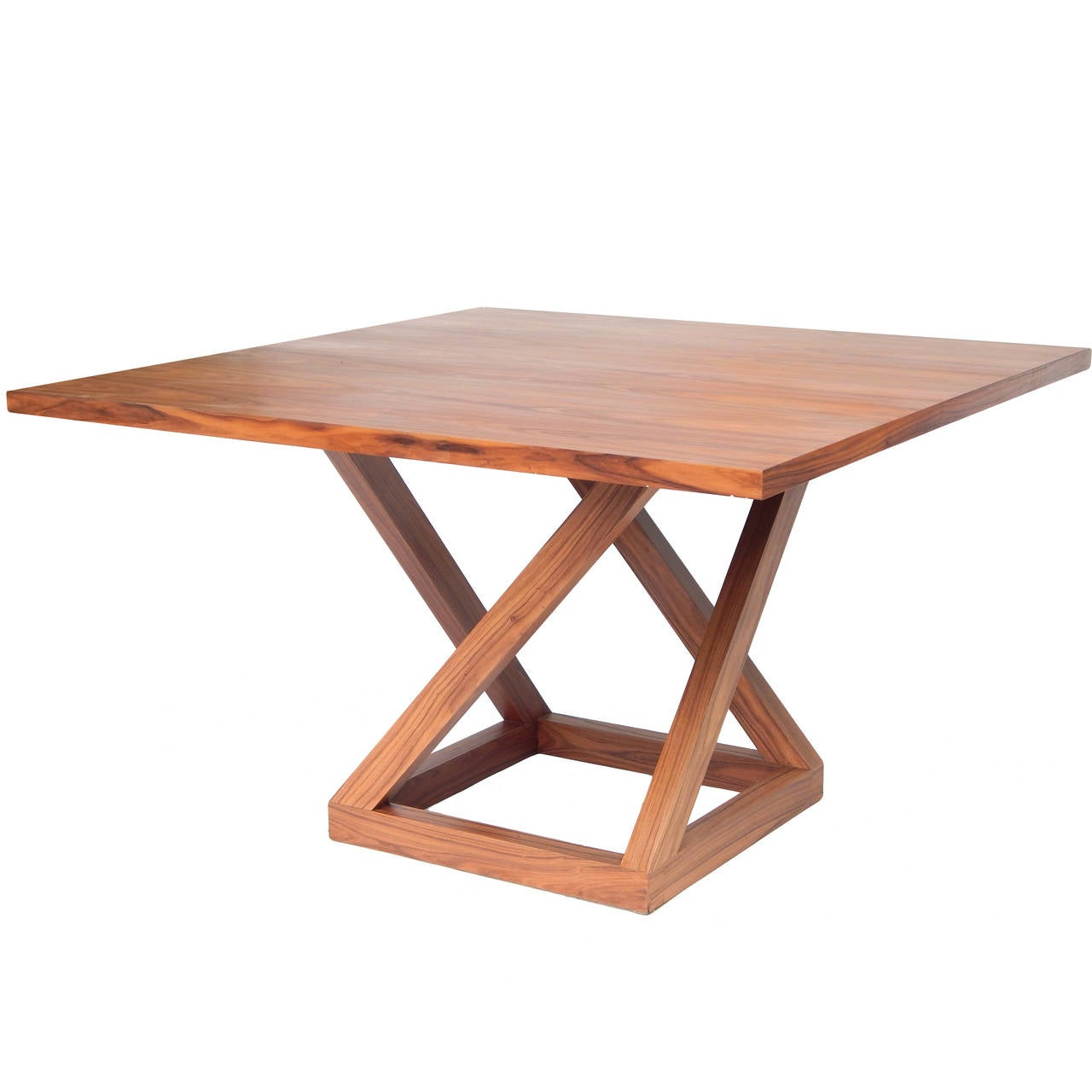 Modern Circassian Walnut Dining Table For Sale At 1stdibs