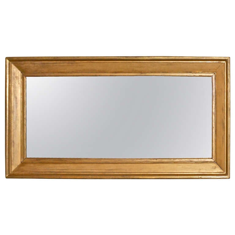 Large gold gilt mirror for sale at 1stdibs for Big mirrors for sale