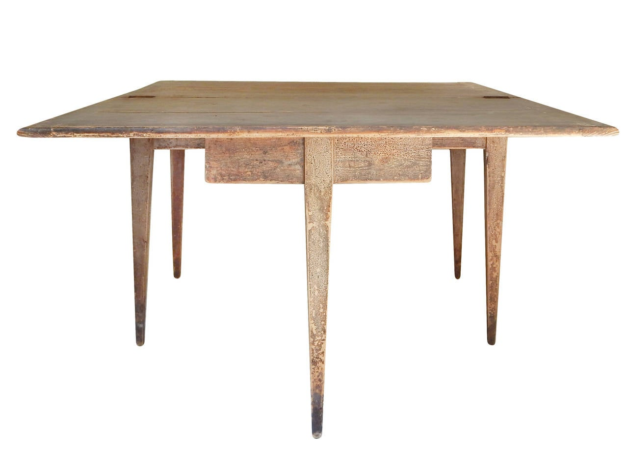 Unusual Swedish Extension Farm Table For Sale at 1stdibs
