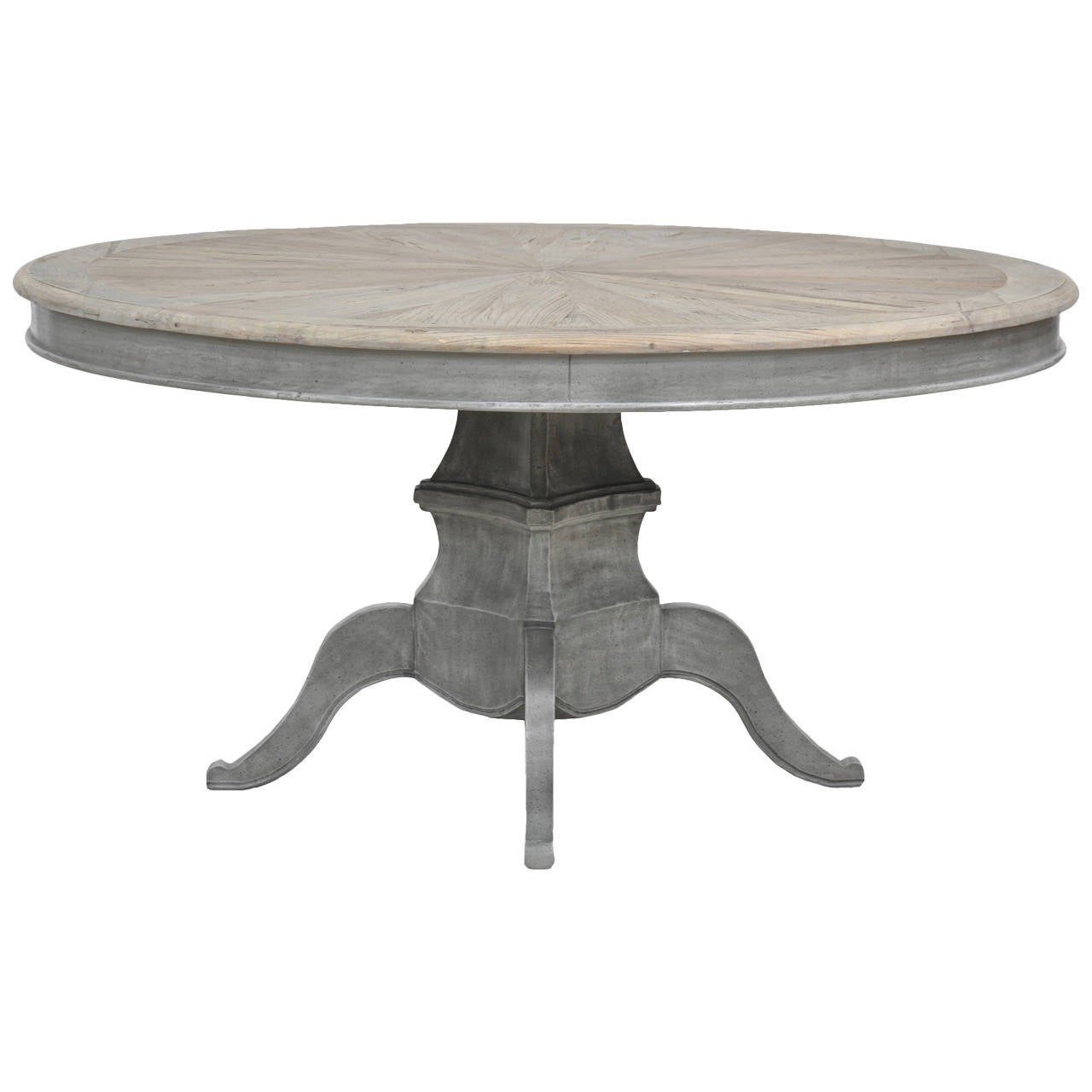 Grey Wash Dining Table At 1stdibs