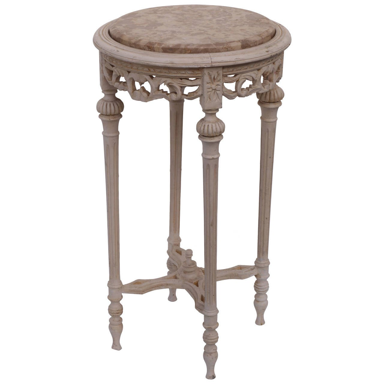 French Marble Top Gueridon