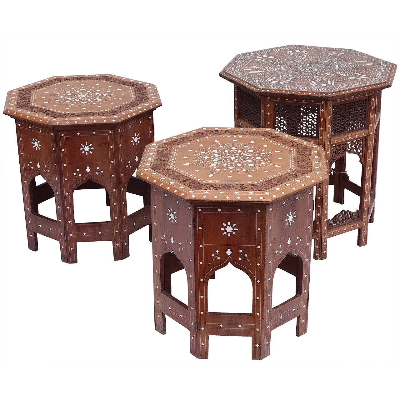 Kashmiri Inlaid Tables For Sale At 1stdibs