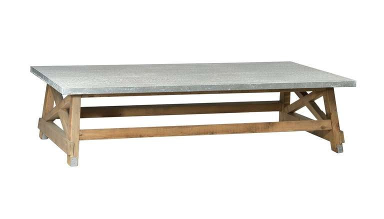 Zinc Top Dining Table For Sale at 1stdibs : DOV3364Ll from www.1stdibs.com size 768 x 438 jpeg 17kB