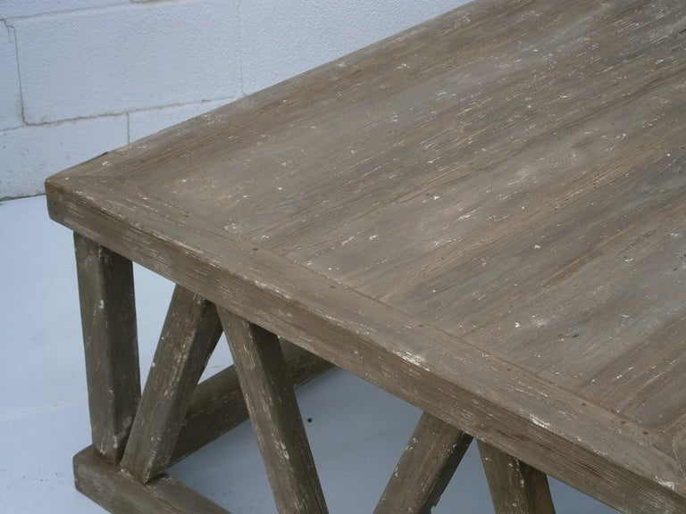 X-Leg Coffee Table image 3