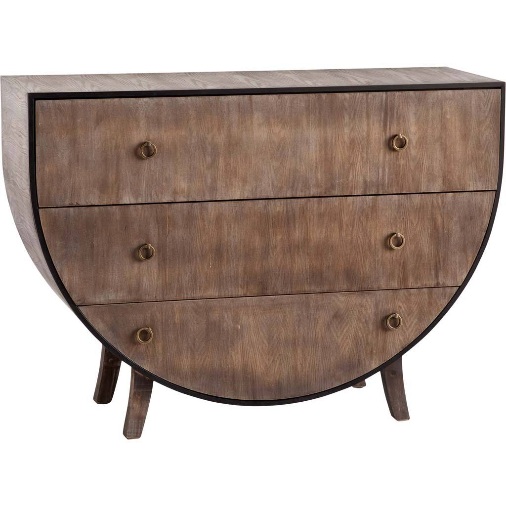 Half-Round Chest of Drawers For Sale at 1stdibs