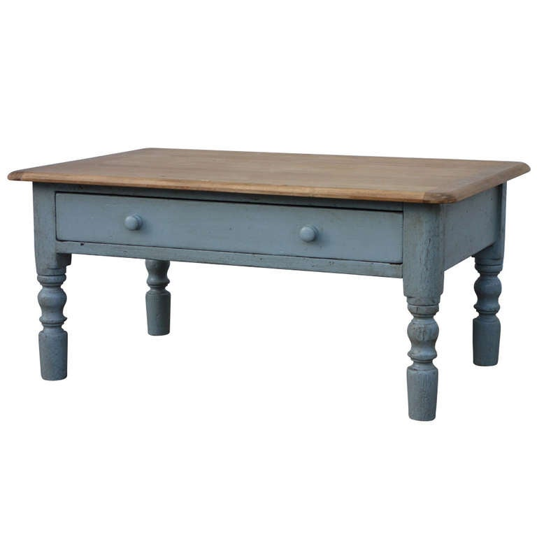 English Pine Coffee Table For Sale At 1stdibs