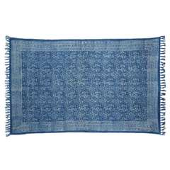Handwoven Batik Area Rug, 4 Designs