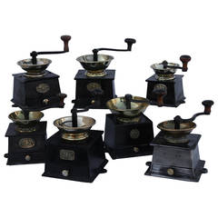 Old English Coffee Bean Grinders