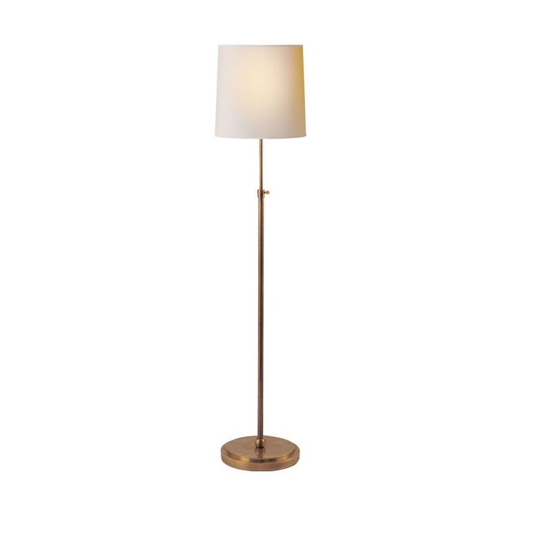 Antique brass floor lamp for sale at 1stdibs for Antique floor lamp parts for sale