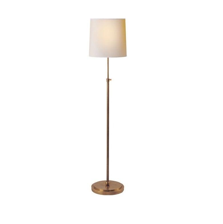 antique brass floor lamp for sale at 1stdibs. Black Bedroom Furniture Sets. Home Design Ideas
