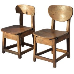 Pair Child's Chairs