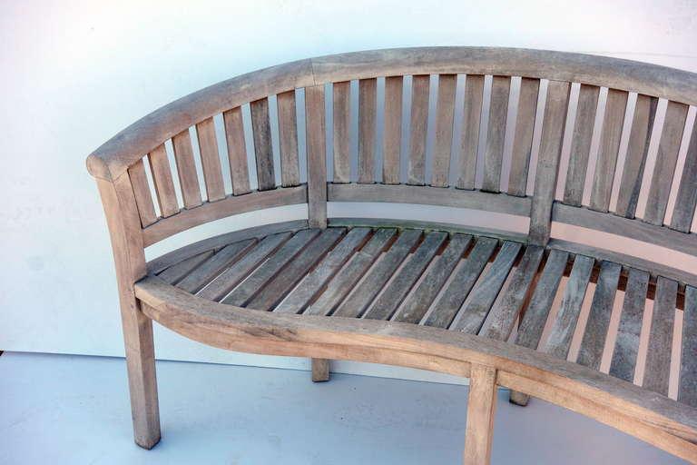 Teak Garden Bench For Sale at 1stdibs