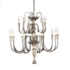 Italian Style Antiqued Chandelier