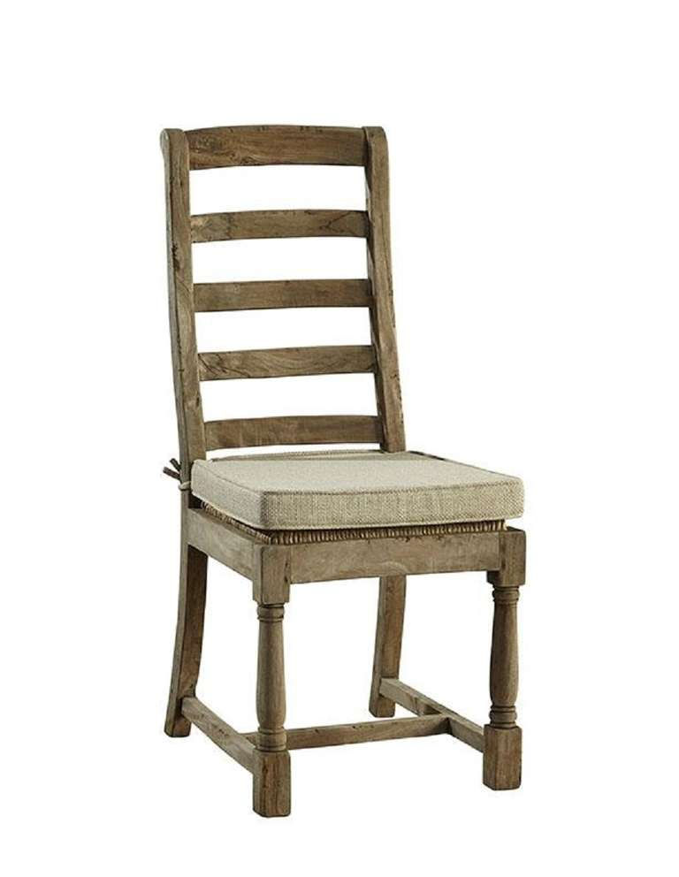 Ladderback dining chair with cushion for sale at 1stdibs - Ladder back dining room chairs ...