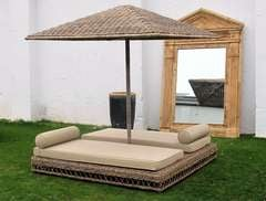 Outdoor Wicker Double lounger