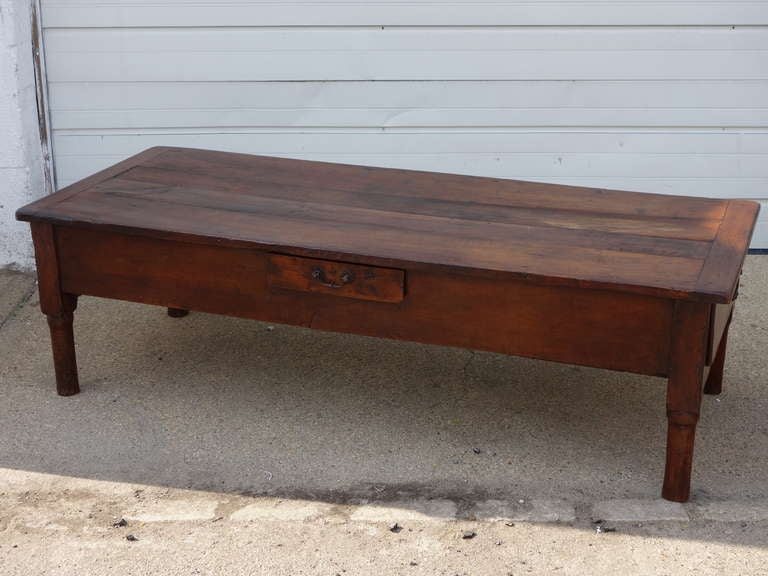 French Fruitwood Coffee Table 2