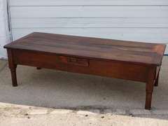 French Fruitwood Coffee Table image 2