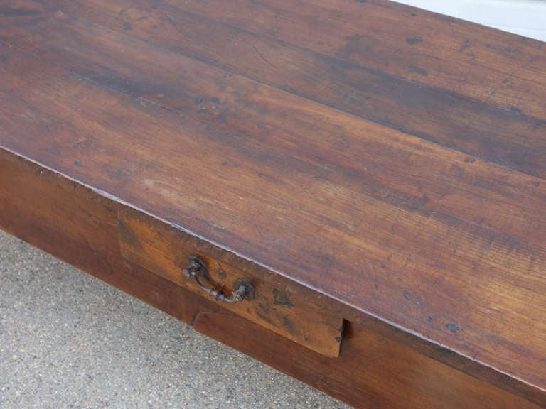 French Fruitwood Coffee Table 4