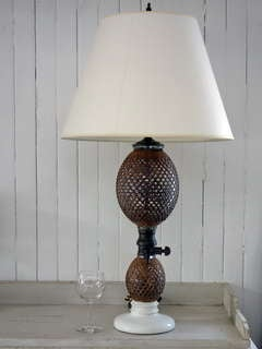 French Soda Bottle Lamp