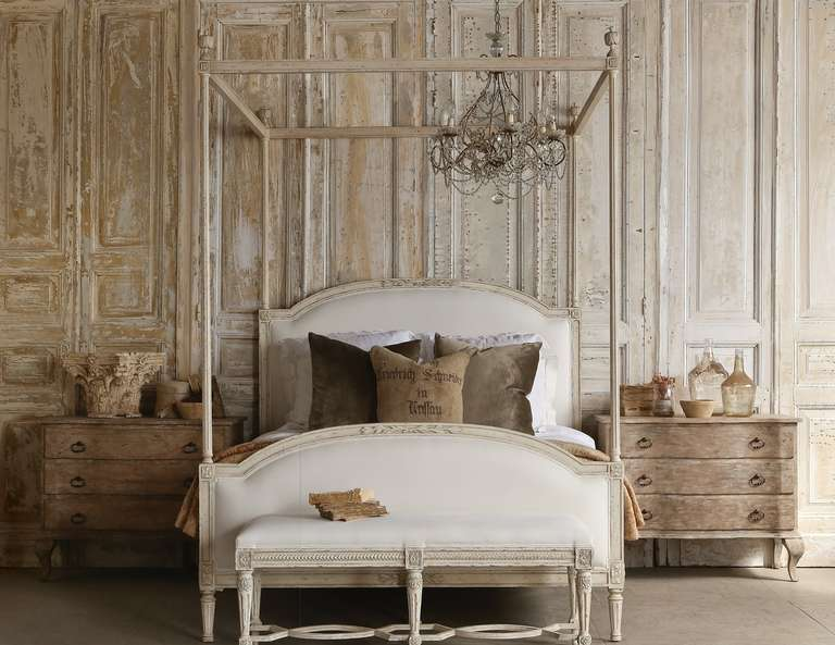 Four Poster Gustavian Style Bed For Sale At 1stdibs