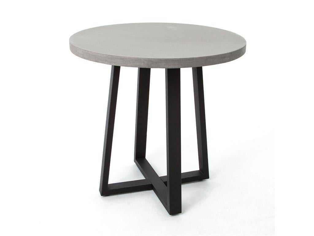 Concrete and iron pedestal base dining table multiple sizes for sale at 1stdibs - Pedestal base for dining table ...