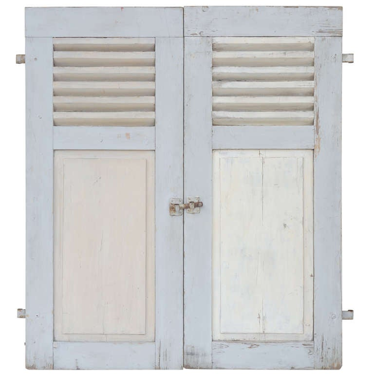 French Shutters At 1stdibs