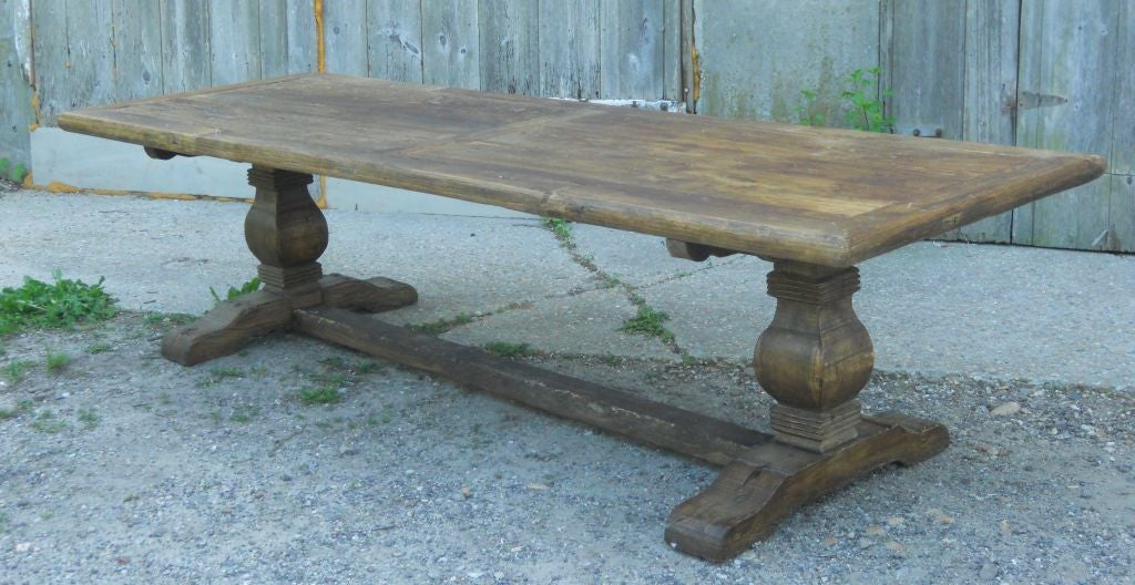 Rustic Pine Dining Table At 1stdibs