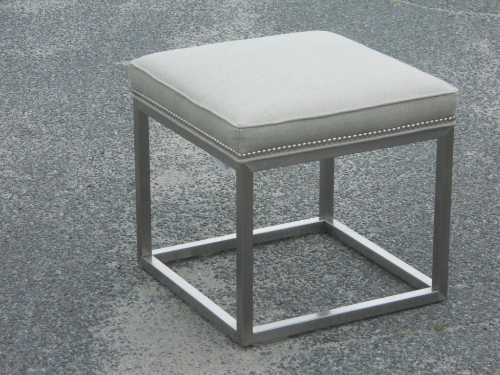 cube ottoman for sale at 1stdibs. Black Bedroom Furniture Sets. Home Design Ideas
