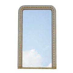 Large Gilded Overmantel Mirror